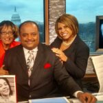 """""""Early Day Show"""" with Roland Martin, host of TV One News and I. Tracee Gales assisted with the book project"""