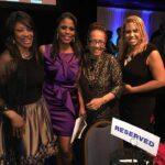 Omarosa and I honored at dinner at the National Press Club.