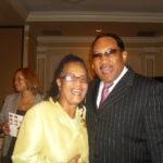 Here I am with Bobby Jones, Dean of Gospel Music.
