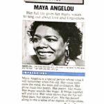 maya angelo interviews and still we rise
