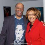 Dr Barbara Reynolds with Richard Prince